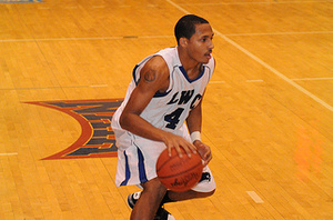 Kalen Kimberland poured in 19 points in the 66-61 loss at Campbellsville on Thursday. <i>File photo.</i>