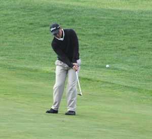 Nicolas Navarro shot the low round of the day for a Blue Raider. <i>File photo</i>
