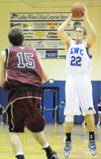 Chase Spreen hit 9-of-10 free throws against UVa.-Wise. <i>File photo.</i>