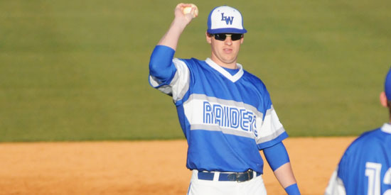 Drew Barrett tallied two hits for four RBIs to lead baseball past Auburn Montgomery on Tuesday.