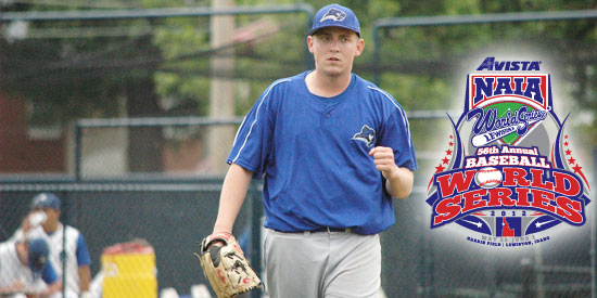 Jeremy Greene threw a complete-game shutout with just three hits allowed against Peru State.