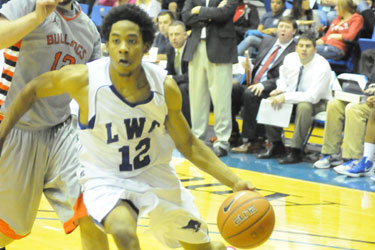 Justin Archie scored 12 points, dished out four assists and grabbed six boards against Union.