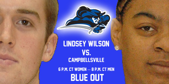 Chase Spreen and Ashley Rainey lead the Blue Raiders into battle tonight against Campbellsville.