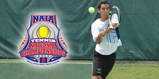 Fernando Bogajo was the first player to finish in singles as Lindsey Wilson shut out Hastings.
