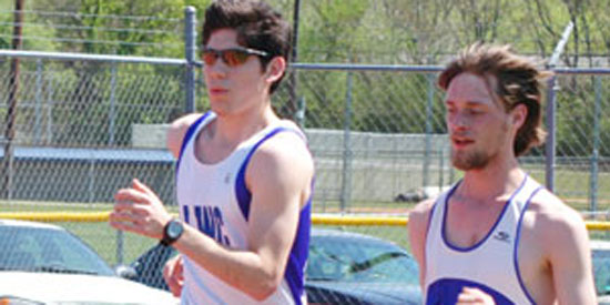 Ricardo Vergara, left, and his brother Roberto (not pictured) compete at nationals on Friday.