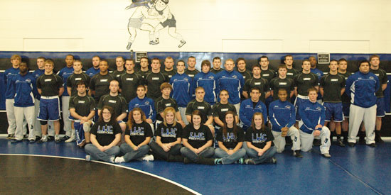 Wrestling finishes second at the Mid-South Conference Championships on Saturday in Williamsburg, Ky.