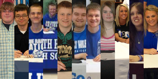 Bowling adds 11 new names to the roster for the 2013-14 season.