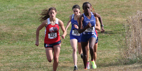 Sharon Ronoh led the pack today at the MSC Championships