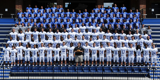 Nine Lindsey Wilson football players received an academic award from the NAIA on Wednesday.