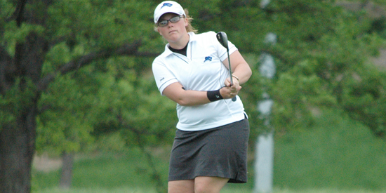 Kaitlin Allan started out strong on the back side with an even-par nine holes.