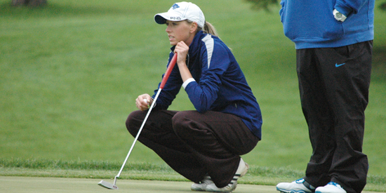 Kelsey Joslyn wrapped up her Lindsey Wilson career with a team-best 84 on day three.