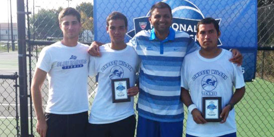 Lindsey Wilson claimed three titles at the ITA Southeast Regional.