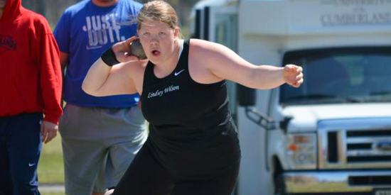 Lindsey Wilson women's track & field finished sixth overall at the Centre Twilight on Friday.