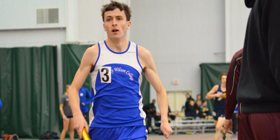 John-Paul Williamson finished 10th in the 5,000-meter run on Friday night in Louisville.
