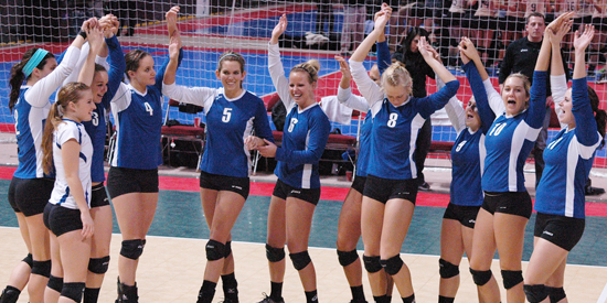 Volleyball is ranked for the first time since the 2012 NAIA Preseason Poll.
