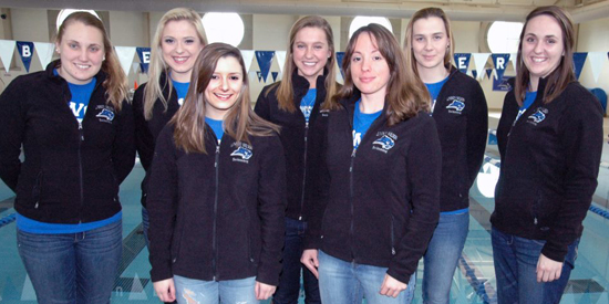 Women's swimming finished a program-best 11th at nationals on Saturday.
