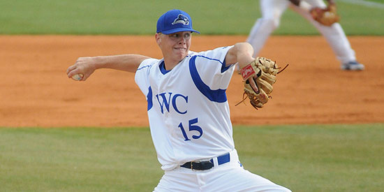 Derek Cape was 8-2 during his senior season at Lindsey Wilson in 2012.