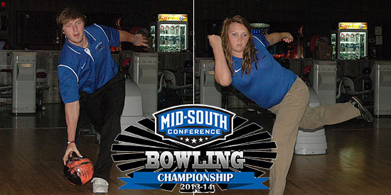 Anthony Cantrell and Jerrica Shannon and the Blue Raiders are ready for MSC Championship.