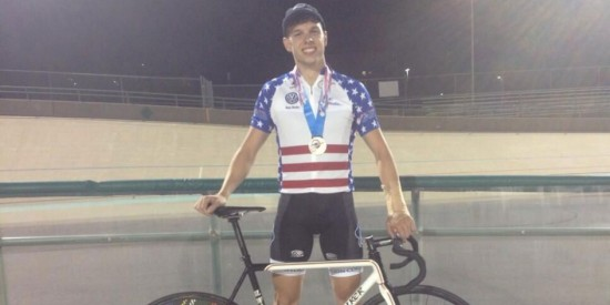Novak wins Individual Pursuit race at the Collegiate Track Nationals
