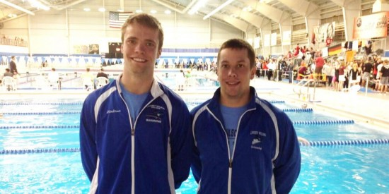 Jonathan Hindman (Left) and Corey Hall finished their LWC careers at the 2014 NAIA National Championships.