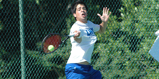 Raul Mendez won both of his matches in today's win over Northwestern Ohio