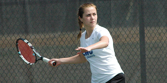 Anna Gaprindashvili earned her first-career Scholar-Athlete honor