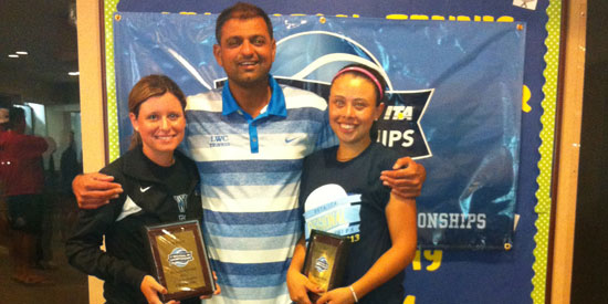 King and Rodriguez win ITA Regional Championship doubles title