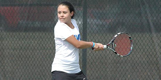 Alicia Rodriguez won in singles and doubles