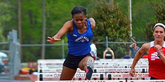 Nacia Johnson took 15th place today in the women's long jump