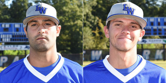 Aaron Ashton (left) and Ryan Hartman earned the weekly honors