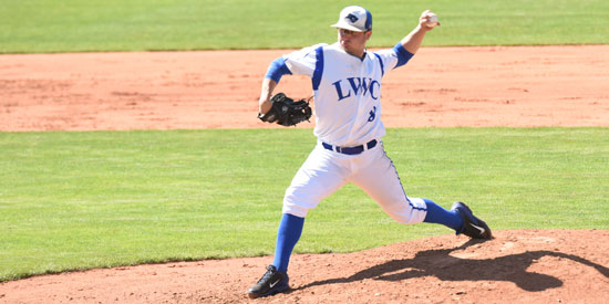 Chris Erker pitched well but suffered the loss in the NAIA World Series opener