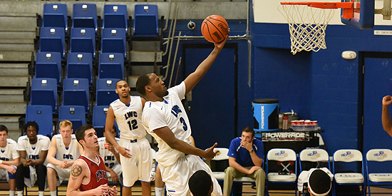 Julian Edmonson scored a game-high 23 points for Lindsey Wilson