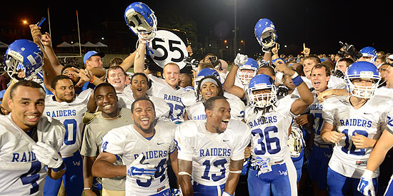 Lindsey Wilson took home the Battle of Highway 55 trophy with the 44-40 win