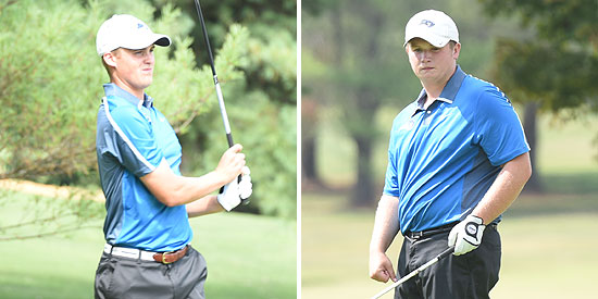 Nathan Hincks (left) and Alex Durham earned All-MSC Academic honors