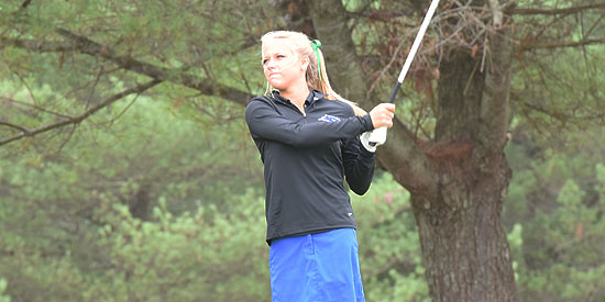 Shayna Cockrill shot an 81 to lead Lindsey Wilson on day one