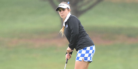 Cristina Jimenez finished tied in 12th place at the tournament