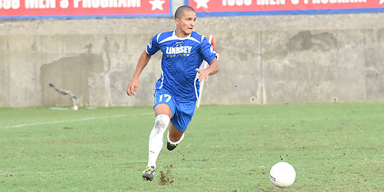 Caio Da Cruz scored the lone goal for Lindsey Wilson in the 5-1 loss
