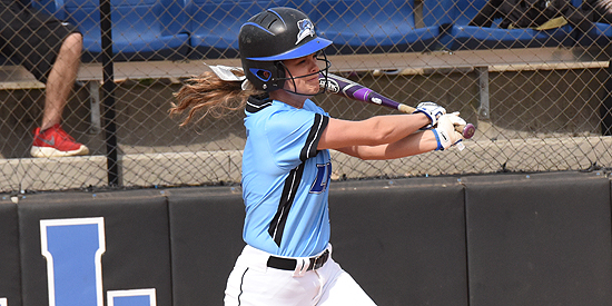 Andrea Whelan led the team with five RBIs on the day