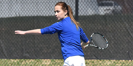 Anna Gaprindashvili is the MSC Women's Tennis Player of the Week