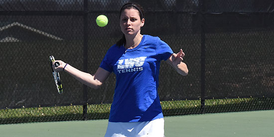 Jessica King is ranked in both the singles and doubles rankings
