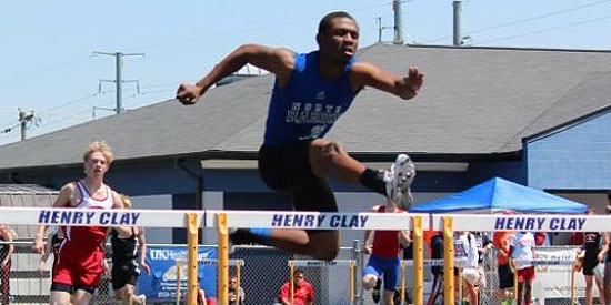 Dante Johnson named 2014 Kentucky Mr. Track