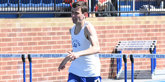 John-Paul Williamson secured a spot in the 1,500 meter run finals on Saturday