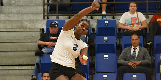 Yennifer Ramirez recorded a career-high 20 kills in the victory