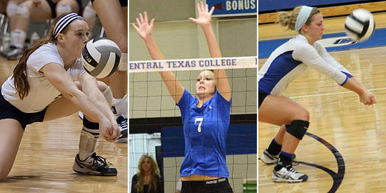Maddie Bivens (left), Rebecca Dauenhauer (center) and Jill Book join LWC in 2015
