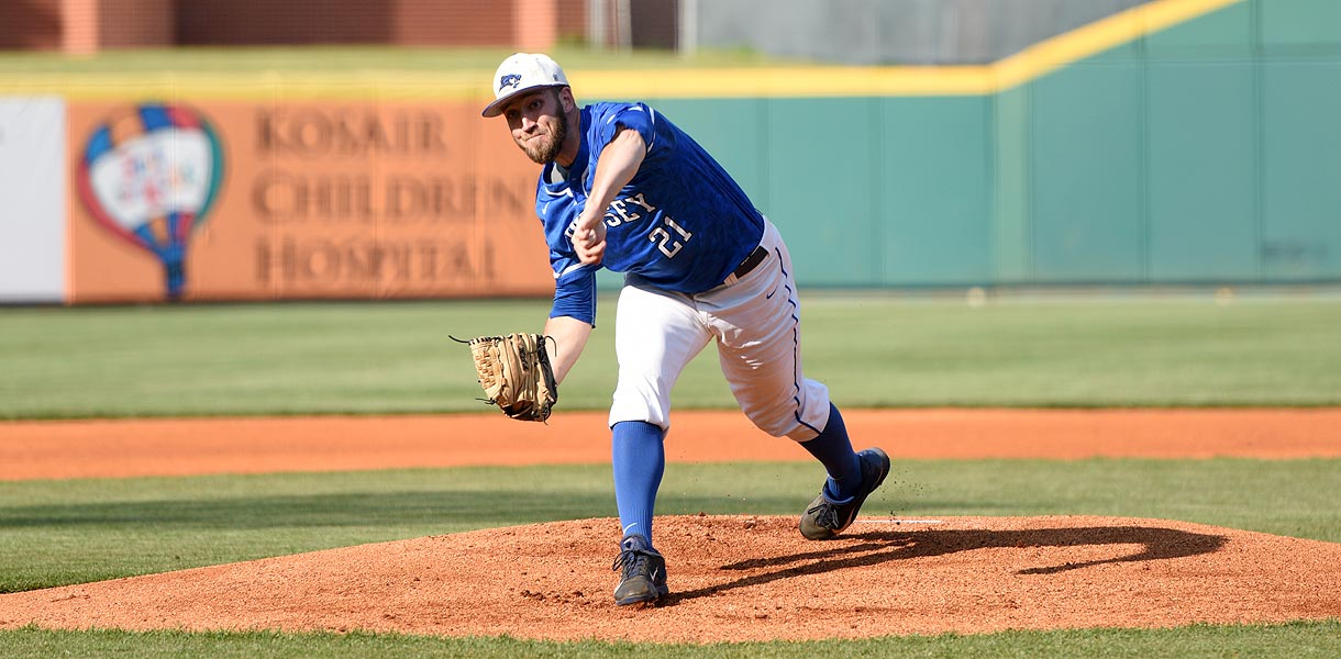 Photo for Former Blue Raider earns Frontier League Pitcher of the Week