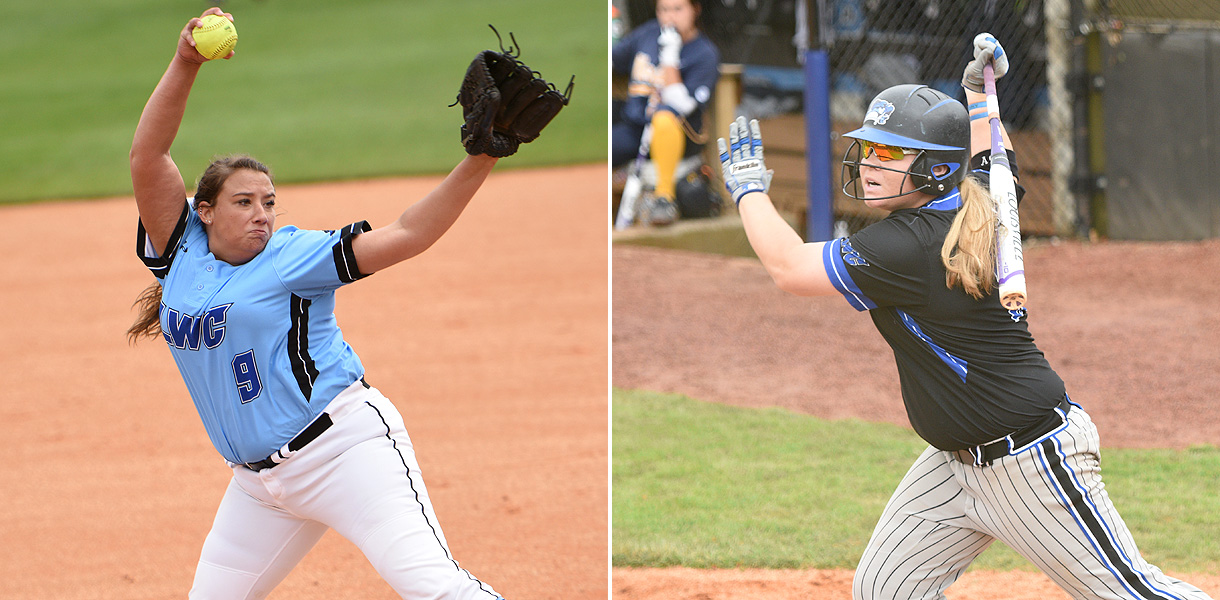 Photo for Fourman and Parden earn NAIA Softball All-American honors