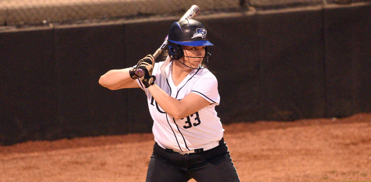 Photo for No. 8 Softball sweeps doubleheader at Union on Tuesday