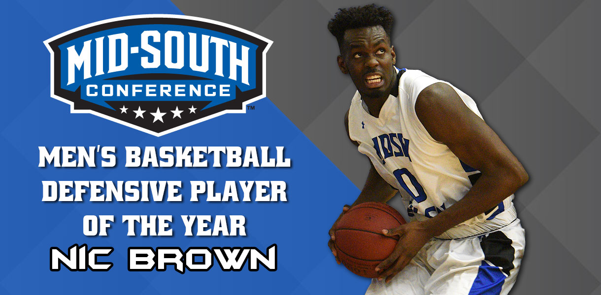 Photo for Nic Brown named MSC Defensive Player of the Year; Four Blue Raiders earn all-conference honors