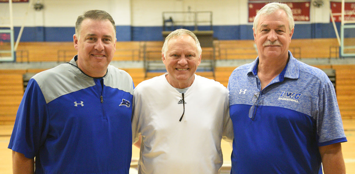 Photo for LWC Hall of Famer returns to campus