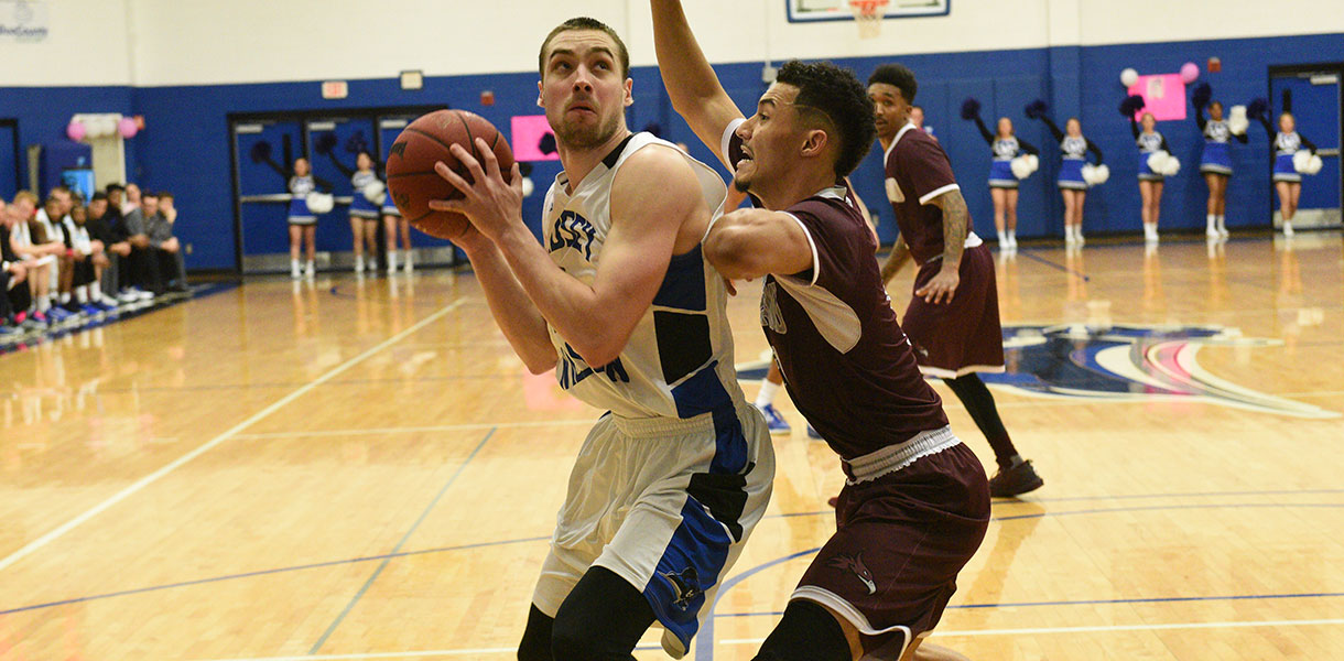 Photo for Strong shooting helps Men's Basketballs defeat Cumberland 81-56